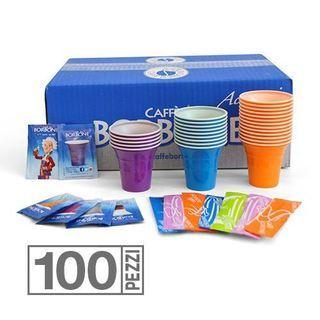 kit 100 sucres  gobelets cuillères