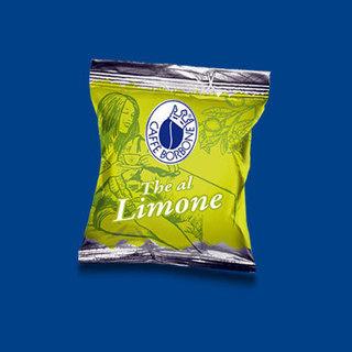Preparation soluble pour boisson de Thé au citron en capsules