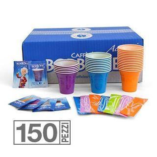 kit 150 sucres  gobelets cuillères